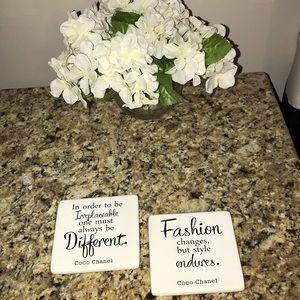CoCo Chanel Fashionista Coasters!!